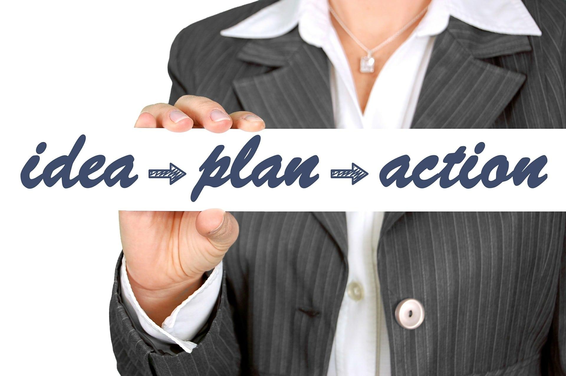 Idee - Plan - Umsetzung