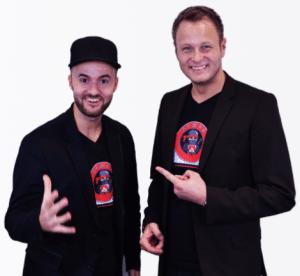Stefan Beier und Daniel Hauber